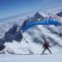Speedriding from the Summit Ice Cap of Aoraki Mt Cook