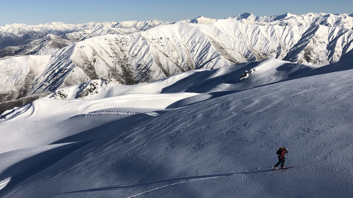 Back Country Avalanche