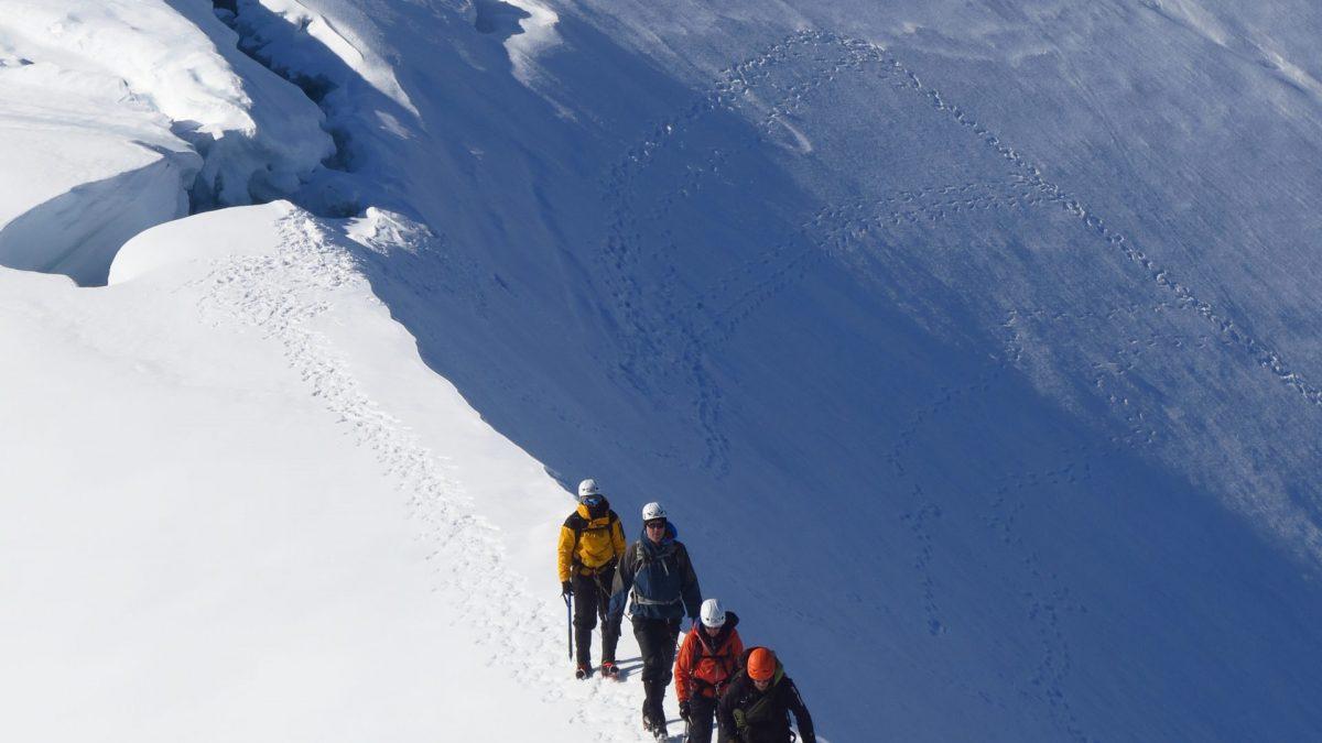 Mountaineering in Antarctica
