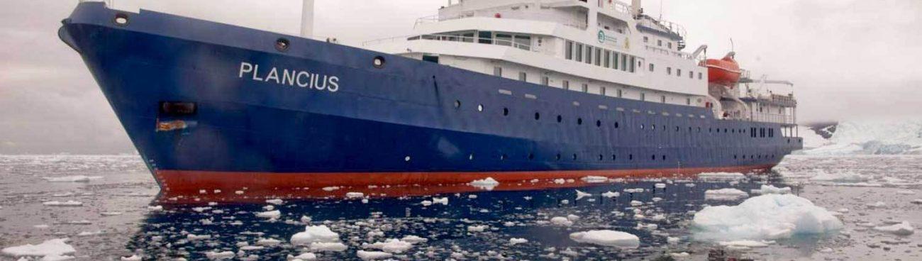MV Plancius – Tracking the Ship