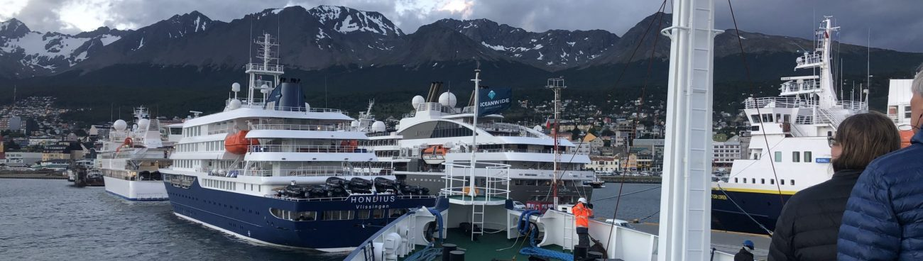 Back in Ushuaia – prep for next passage south